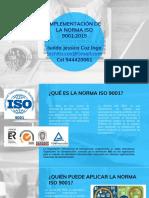 IMPLEMENTACIÓN NORMA ISO 9001:2015