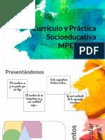 Currículo y Práctica 2019 T1