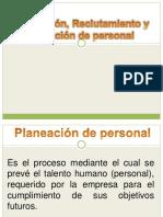 Planeacin Reclutamiento Seleccin Personal
