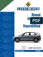 Audi a3 Modelo 2000
