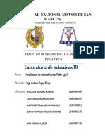 Analizador de redes eléctrica Fluke 435 II lab mauinas III