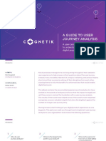 Cognetik eBook - A Guide to User Journey Analysis