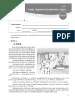 Quinto Bco Prueba Diagnostico Comp Lectora 2019