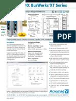 XT1540 Ethernet Analog Output Digital IO Multifunction Modules