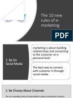 The 10 New Rules of E-marketing