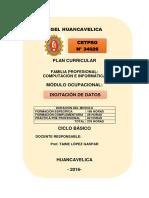 Modulo Digitacion Datos