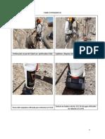 Proceso de La Perforacióninyección y Recolección de Muestras