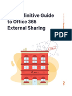 O365 ext sharing