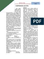 textos de COMPRENSIÓN LECTORA - 4°