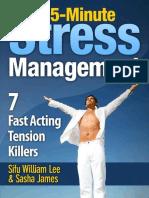 5-Minute Stress Managment 7 Fast Acting Tension Killer Methods.epub