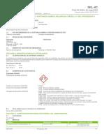 SKL 4C Safety Data Sheet Espanol