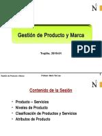 UPN GPM 2019-01 Sesion 05 El producto, niveles y clasificación.ppt
