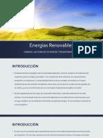 Historia de Las Energias Renovables