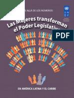 Mujeres Transforman en Poder Legislativo