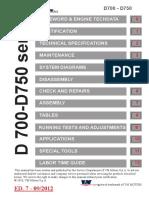 Service Manual VM D700222