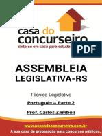 Apostila Al Rs Portugues