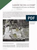 La gran sequia de 1454 en la cuenca de mexico (Desastres en Mexico - Arqueologia Mexicana_149)