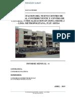 Informe Mensual 6 Supervision SUNAT Pueblo Libre