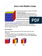 How to Solve a 4x4 Rubik's Cube [Complete Guide]