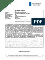 Planificacion de Economia General 2018-2020