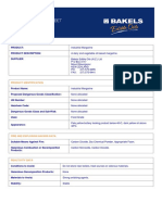 MSDS Industrial Margarine