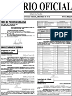 Diario Oficial 18-05-2019