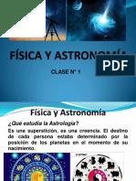 FÍSICA Y ASTRONOMÍA-Clase n° 1