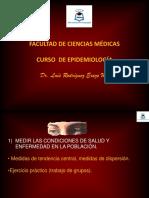 6-Medidas de Tendencia Central, Medidas de Dispersion