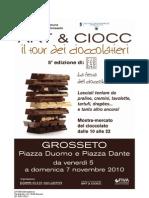 Cioccolando - ART e CIOCC 2010 a Grosseto