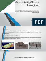 Guías Estratigráficas y Litológicas