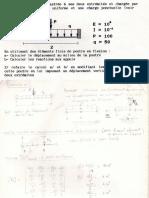 TD MEF - Exp de Calcul de Poutre
