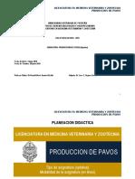 Producción de Pavos CCBA