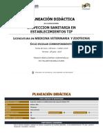 Inspección Sanitaria en Establecimientos TIF CCBA