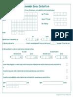 Assessable Spouse Election Form