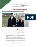 Jared Kushner Trumps Schwiegersohn Nimmt an Bilderberg-Konferenz Teil - SPIEGEL ONLINE