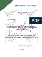 Apostila de laboratório de química orgânica