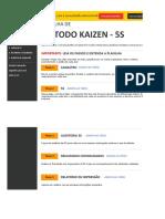 Planilha de Método Kaisen 5S 3.0 - DEMO