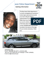Seeking Information Homicide Flyer