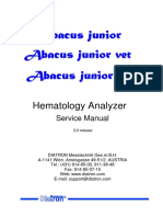equipo de heamtologia Diatron Abacus Junior Hematology Analyzer - Service manual.pdf