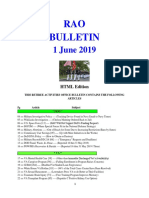 Bulletin 190601 (HTML Edition)