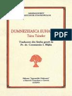 33 - Dumnezeiasca Euharistie - Taina - Arhimandritul Hristofor Stavrop, Traducere