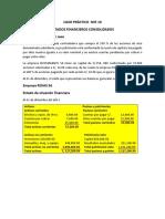 Caso Practico NIIF 10 Estados Financieros Consolidados (1)
