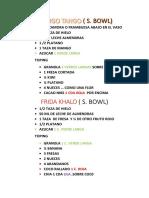 Anana Recetas Finales