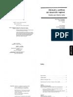 FERNANDEZ y BRANDAO (directores). Escalas y Políticas del Desarrollo Regional