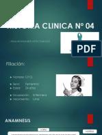 Historia Clinica Nº 04