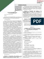 Aprueban Formato y Especificaciones Técnicas Del SOAT