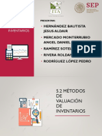 5.2 Métodos de Valuación de Inventarios