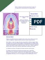 Una Explicación de Los Chakras y Su Función en Las Interacciones Entre El Cuerpo y La Conciencia