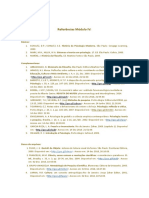 Referências Módulo IV