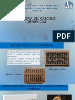 Historia Del Cálculo Diferencial